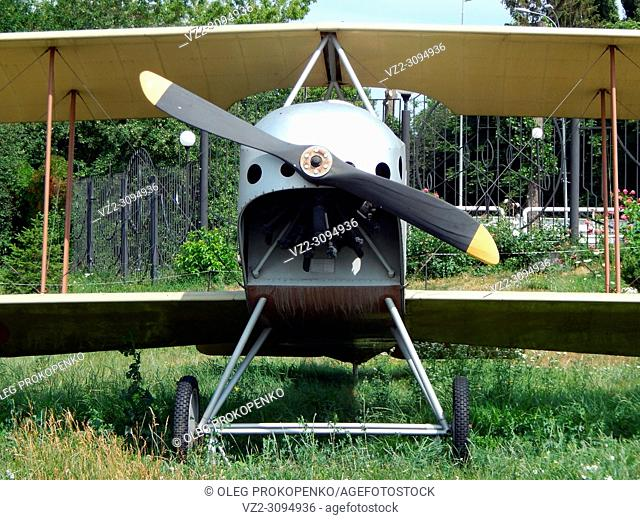 Aviation engine propellers