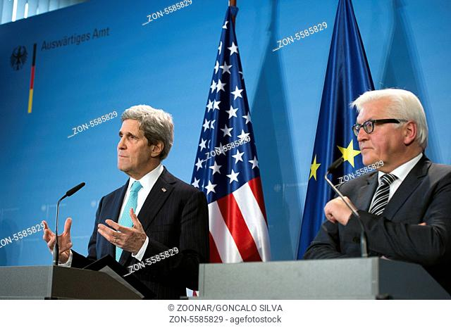 German Foreign Minister Steinmeier meets with US SS Kerry