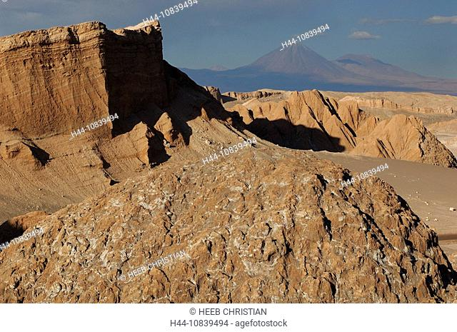 Chile, South America, Valle de la Luna, Atacama Desert, Desert, San Pedro de Atacama, Altiplano, Antofagasta, landscap