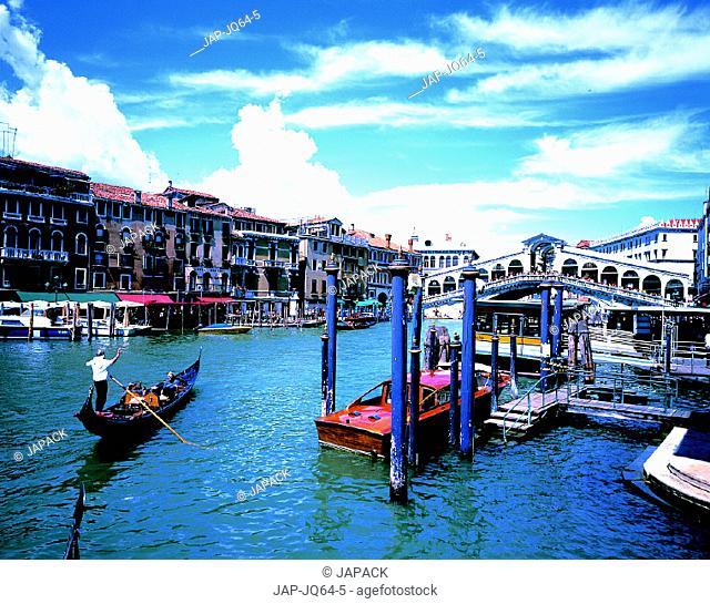 Ponte di Ralto, Venice, Italy