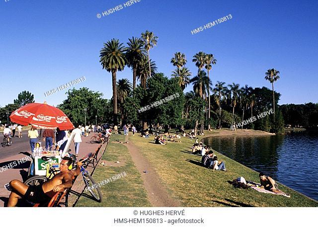Argentina, Buenos Aires, Palermo garden