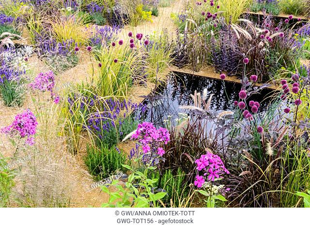 POND AND PLANTING