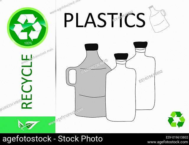 Please recycle plastic