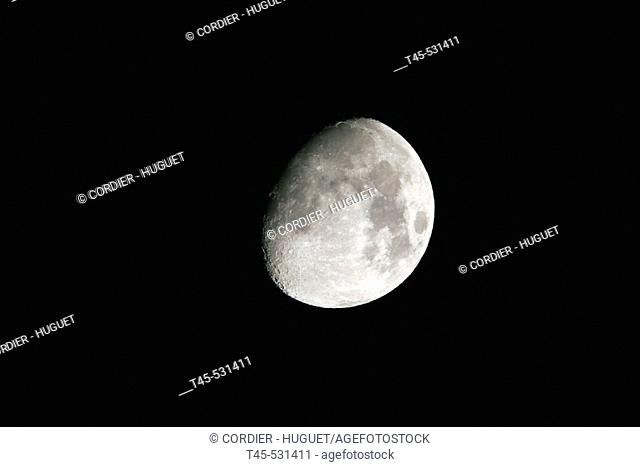 Moon. Provence, (France)