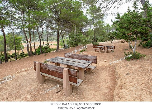 area recreativa Sa Talaia, San Antonio de Portmany, Ibiza, Balearic Islands, Spain