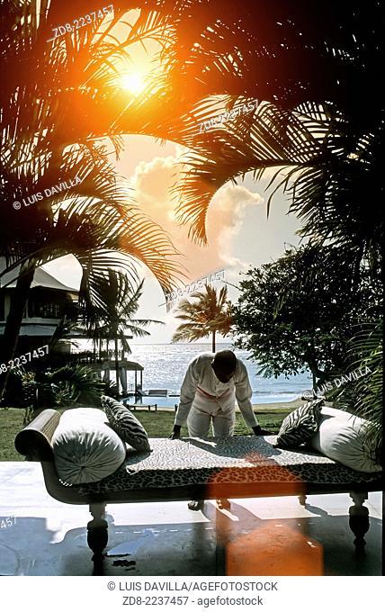alfajiri villas resort. mombasa beach