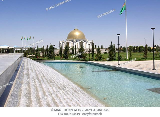 Mausoleum of President Turkmenbasy, Ashgabat, Turkmenistan
