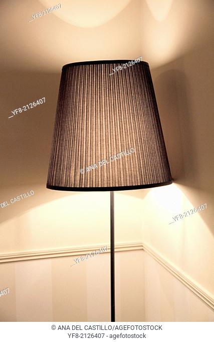 Lamp in brown