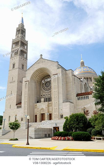 Shrine of Immaculate Conception in Washington, DC