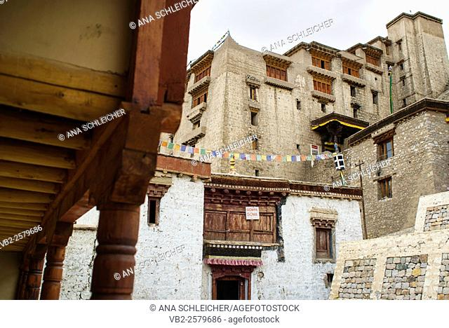 17th century Leh palace entrance (Ladakh, India)