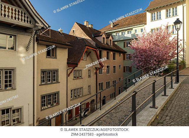 Afternoon in Aarau, canton Aargau, Switzerland