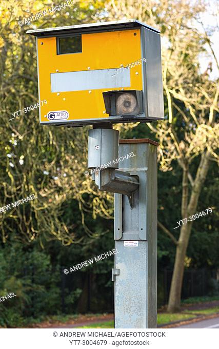Gatso speed camera. Cambridge. UK