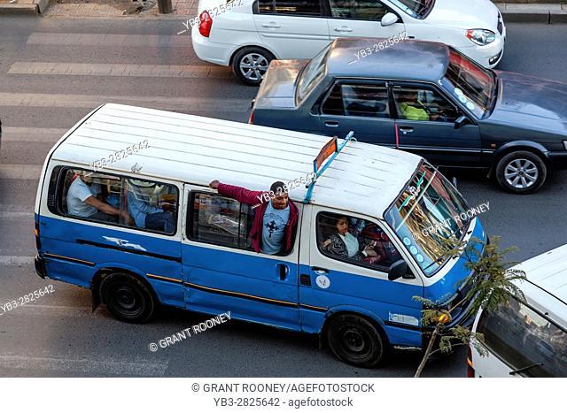 Minibus Taxis, Bole Road, Addis Ababa, Ethiopia