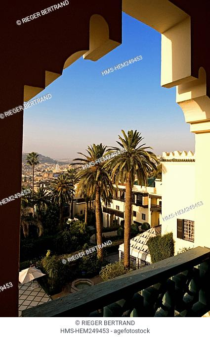 Morocco, Middle Atlas, Fez, Imperial City, Sofitel Palais Jamai Hotel