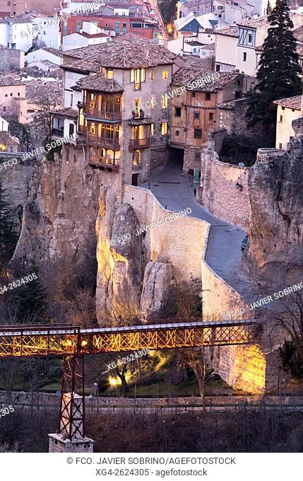 Casas Colgadas y puente de San Pablo - Cuenca, Castile-La Mancha, Spain
