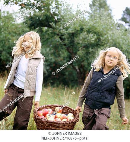 Scandinavian twin sisters, Sweden