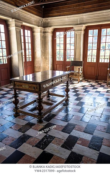 National Palace, Interior, Entrance Hall, Sintra, Portugal
