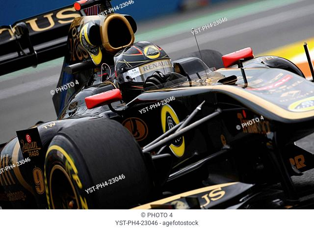 Nick Heidfeld, Friday Practice, Formula One, European Grand Prix, Valencia, Spain