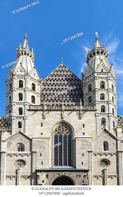 Vienna, Austria, Europe. The Saint Stephen's Cathedral