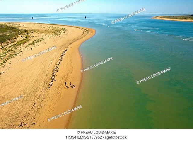 France, Vendee, Fromentine, tourism