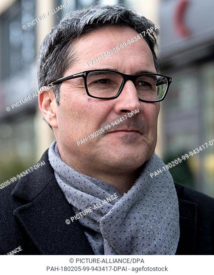 Governor of South Tyrol Arno Kompatscher (SVP) arrives at the Brenner Summit in Munich, Germany, 5 February 2018. Under the guidance of the EU commission