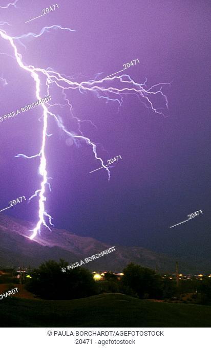 Lightning, Tucson, Arizona, USA