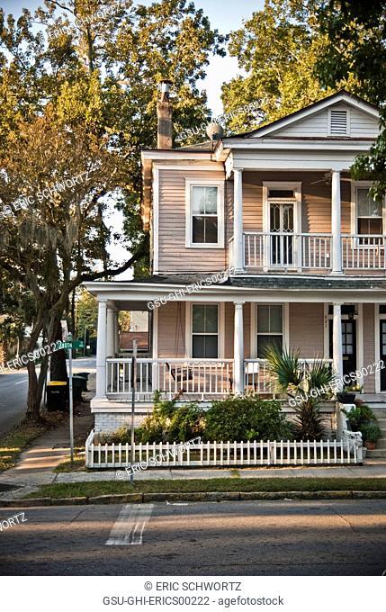 house, architecture, exterior