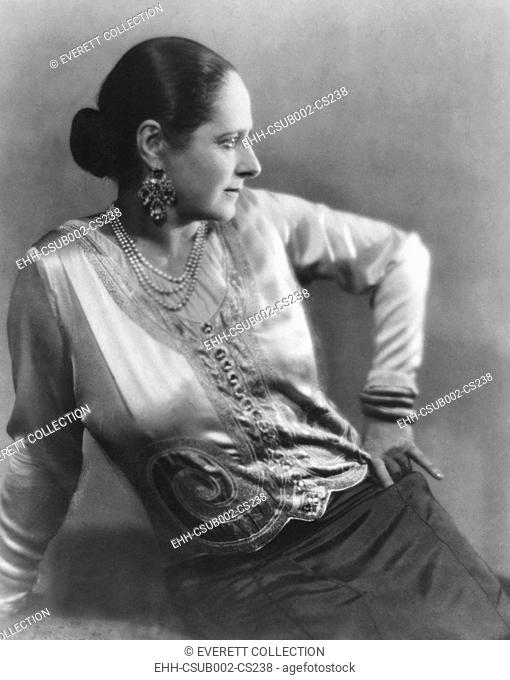Helena Rubenstein in 1930, the year her book, 'The Art of Feminine Beauty' was published. Photo by Maurice Goldberg. (CSU-2015-11-1271)