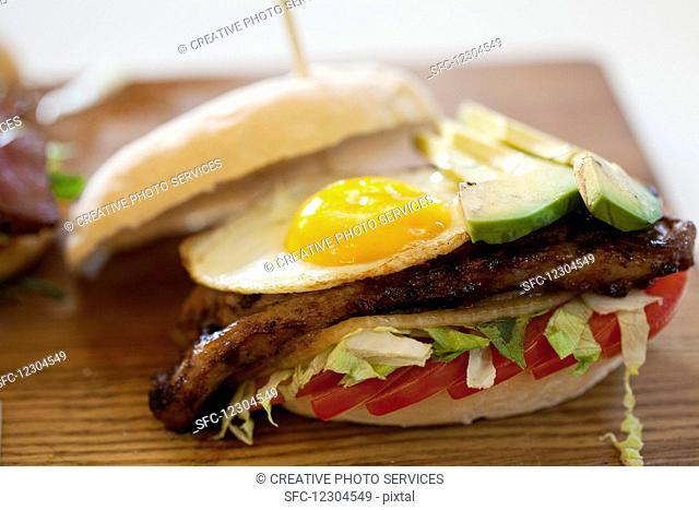 Steak and Egg Prego roll