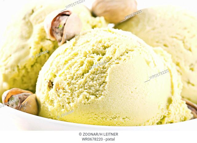 Pictachio ice cream