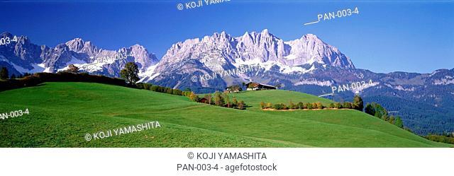 Wilder Kaiser, Elmau, Tirol, Austria