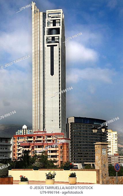Vista Exterior del Gran Hotel Bali  186 metros de altura  Benidorm  Provincia de Alicante  Costa Blanca  Comunidad Valenciana  España