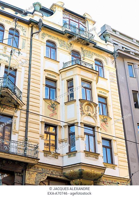 Czech Republic, Prague, building