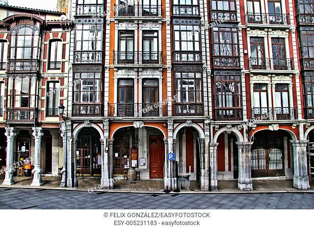 San Francisco, Galiana Street,Asturias, Spain