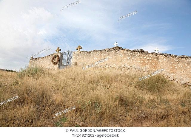 Village Cemetary in Melida - Melida, Valladolid Province, Castile and León, Spain
