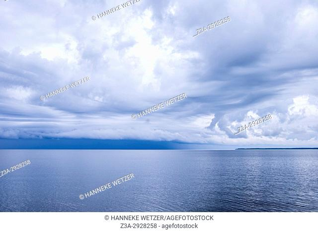 The Gulf of Finland seen from Lahemaa National Park, Estonia