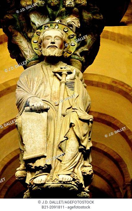 Spain-Galicia-A Coruña. Santiago de Compostela Cathedral (Galician: Catedral de Santiago de Compostela) is a Roman Catholic cathedral of the archdiocese of...