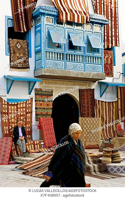 Tunez: Kairouan Carpet Store in Rue Sept Novembre