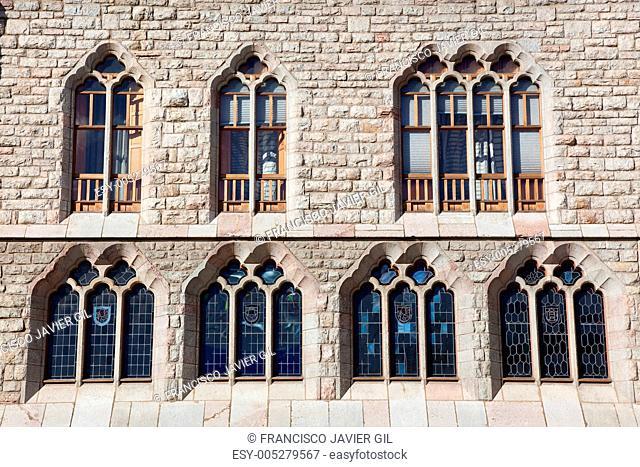 Botines palace, Leon, Castilla y Leon, Spain