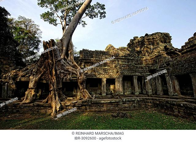 Buddhist temple complex of Preah Khan