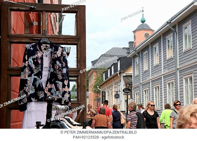 Porvoo in southern Finland was granted municipal rights by the Swedish King Magnus Erikkson in 1346. It is therefore the second oldest town in Finland