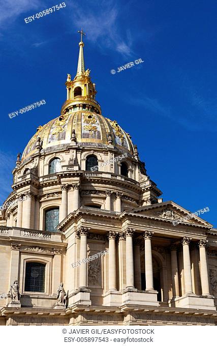 Les Invalides, Paris, Ile de France, France