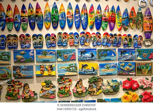 Maui, souvenirs, USA, Hawaii, America, surfboards, pictures, kitsch
