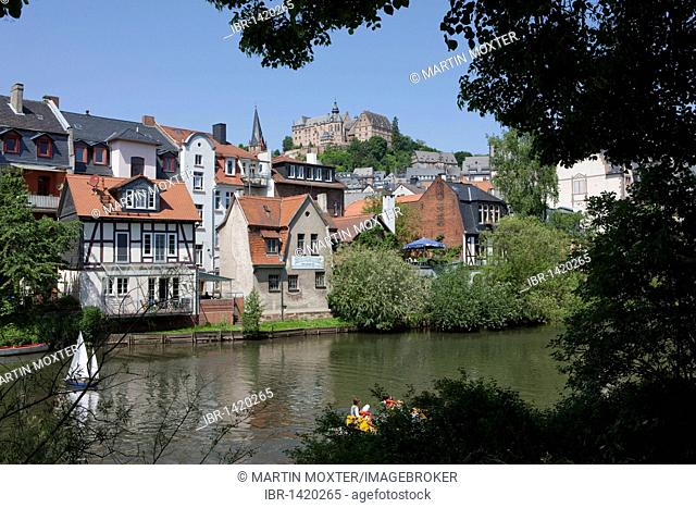 The Alte Universitaet university, Marburg an der Lahn, Hesse, Germany, Europe