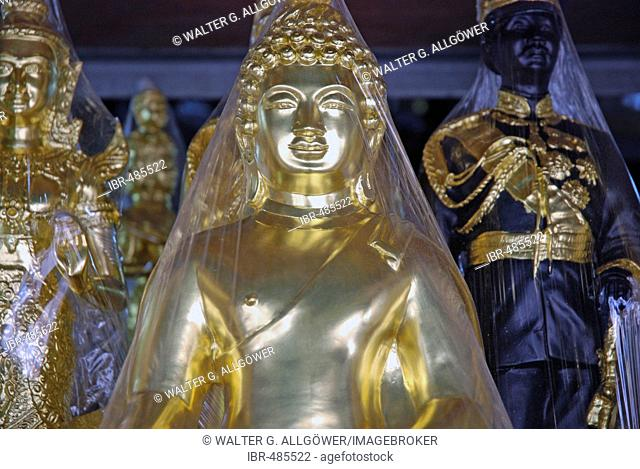 Amulet market, Bangkok, Thailand