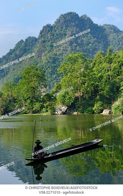 Myanmar, Kayin (Karen) State, Hpa-An, Surroundings of Saddar cave