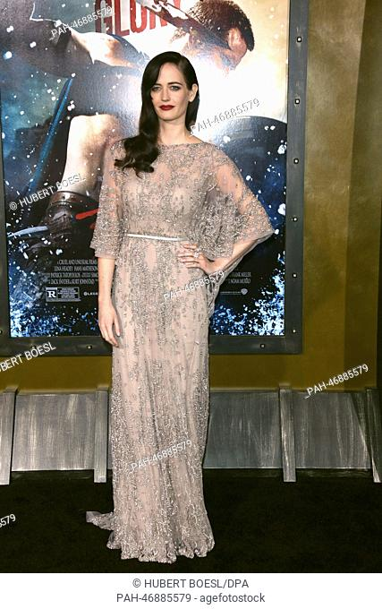 Actress Eva Green attends the premiere of 300: Rise Of An Empire at TCL Chinese Theatre in Los Angeles, USA, on 04 March 2014