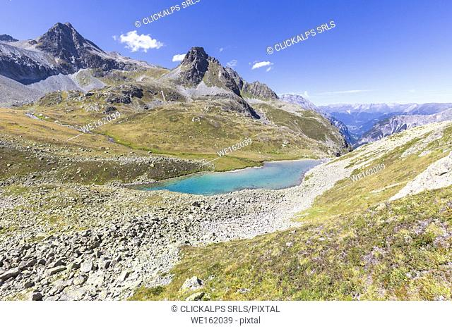 Lai Alv, Albula Pass, Engadin Valley, Graubünden, Switzerland, Europe