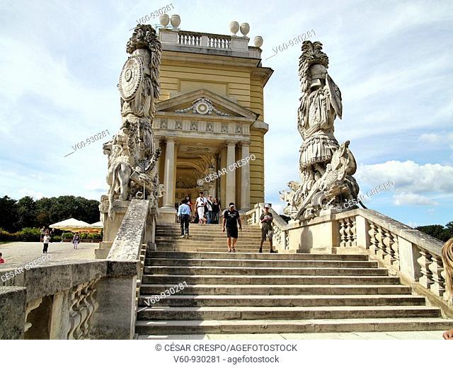 -Schlosspark Shonbrunn- Wien