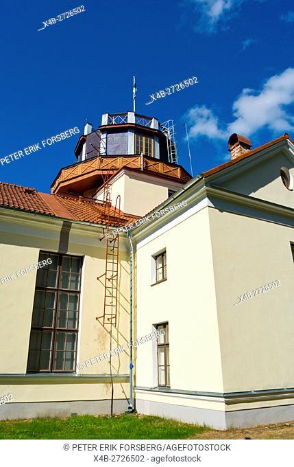 Tähetorn, Observatory, from 1810-1825, Toomemägi, hill park, Tartu, Estonia, Baltic States, Europe